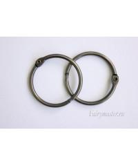 Кольца для альбомов серебро 40 мм