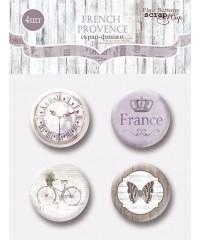 "Набор скрап-фишек  ""French Provence"""