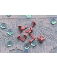 Брадс 5 мм. розовые