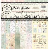"Бумага для скрапбукинга ""Magic Garden"" 30,5х30,5"