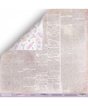 Скрап бумага Газета 2