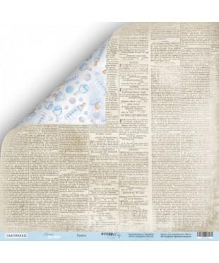 Скрап бумага Газета