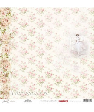 Скрап бумага Балерина