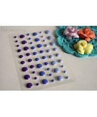 Дотсы фиолетовых оттенков