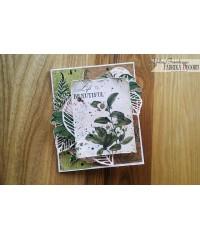 """Набор скрап бумаги  """"Botany summer"""" 30,5х30,5 см"""