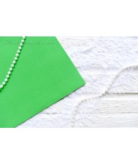Фоамиран зеленый лайм цвета