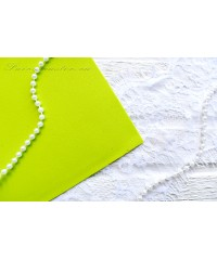Фоамиран желто-зеленого цвета