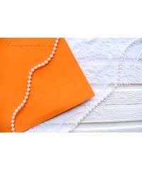 Фоамиран оранжевого цвета