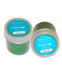Глиттер зеленый