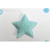 Декоративная мятная звездочка