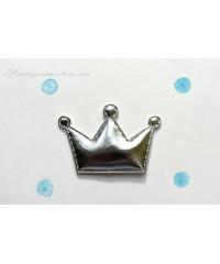 Декоративная  серебрянная  корона