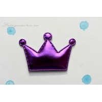 Декоративная сиреневая корона