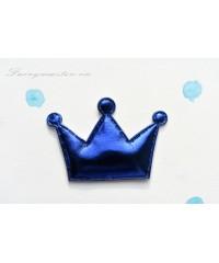 Декоративная синяя корона