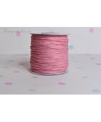 Вощеный шнур розовый
