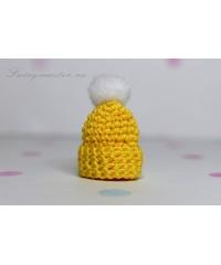Детская шапочка жёлтая