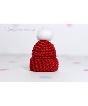Детская шапочка красный мак