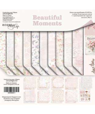 Набор скрап бумаги  Вeautiful Moments 30,5х30,5 см