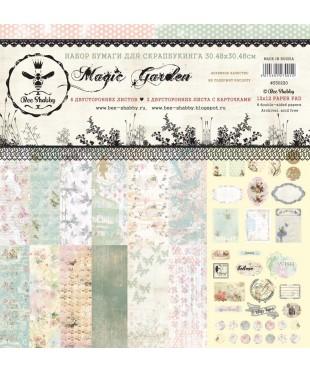 Бумага для скрапбукинга Magic Garden 30,5х30,5