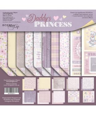 Набор скрап бумаги Daddy's Princess 30,5х30,5 см