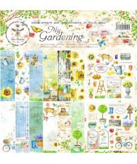 """Бумага для скрапбукинга """"My Gardening"""" 30,5х30,5"""