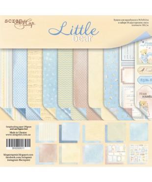 Набор скрап бумаги Little Bear 30,5х30,5 см
