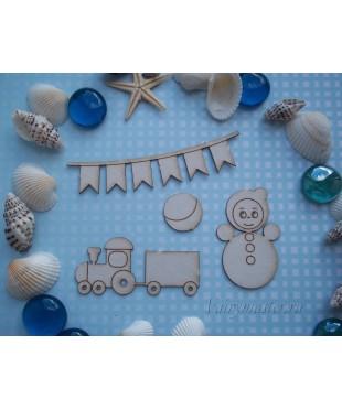 Чипборд Детские игрушки