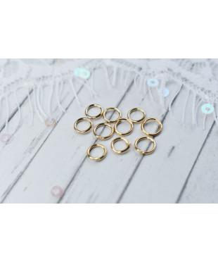 Соединительное кольцо золото