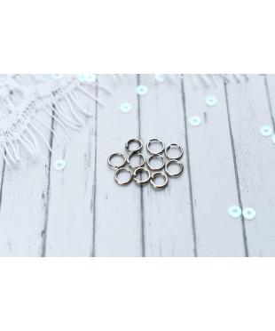 Соединительное кольцо серебро