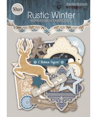 """Набор высечек """"Rustic Winter"""""""