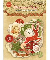 """Набор высечек """"Christmas Night"""""""