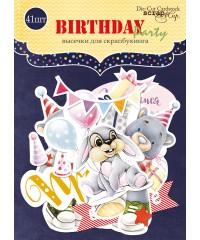 "Набор высечек ""Birthday Party"""