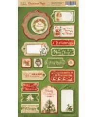 """Чипборд """"Christmas Night"""""""