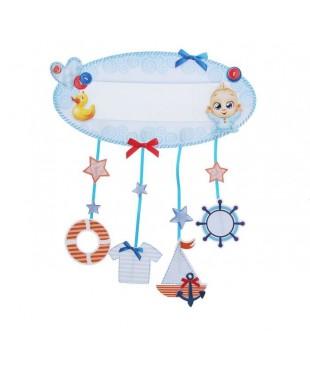 Набор для скрапбукинга метрика малыша Морской