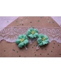 Букетик цветов из фоамирана мята