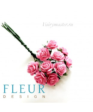 Мини-розочки розовые