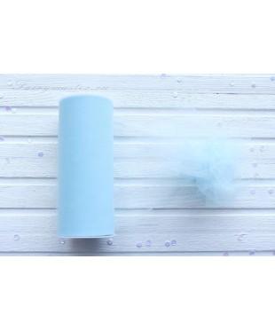Фатин средней жесткости светло-голубой