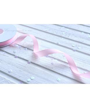 Лента репсовая светло-розовая