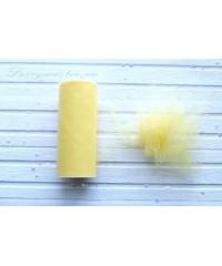 Фатин средней жесткости желтый