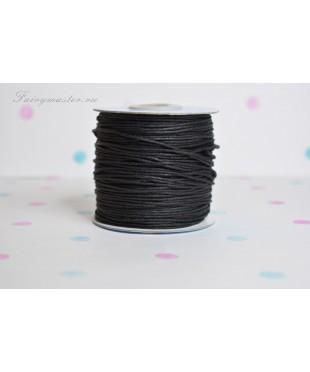 Вощеный шнур черный