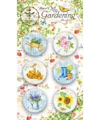 """Набор скрап-фишек  """"My Gardening"""""""