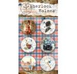 "Набор скрап-фишек  ""Sherlock Holmes"""