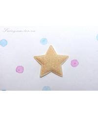 Декоративная  кремовая звездочка