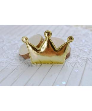 Декоративная  золотая  корона