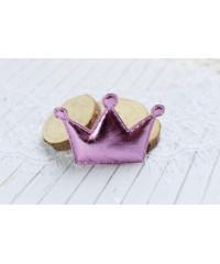 Декоративная светло-сиреневая корона