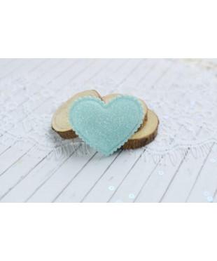 Декоративное мятное сердечко