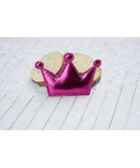 Декоративная розовая корона
