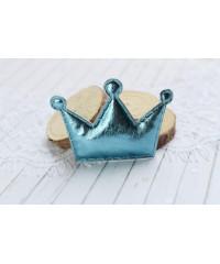 Декоративная голубая корона