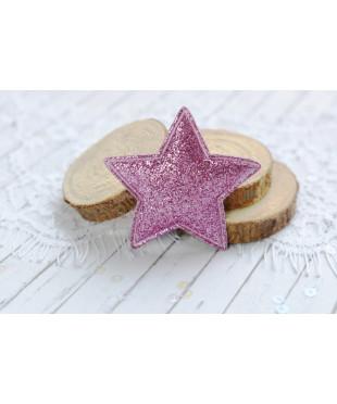 Декоративная  сиреневая  звездочка