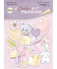 """Набор высечек """"Daddy's Princess"""""""