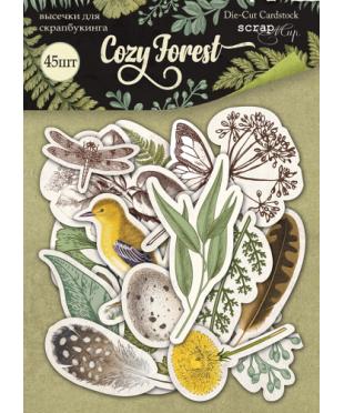Набор высечек Cozy Forest